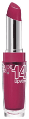 Rode Maybelline SuperStay 14h - One Step 540 Ravishing Rouge - Rood - Lippenstift lippenstift