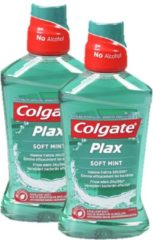 Colgate Plax Soft Mint - Mondwater - 2 x 500 ml