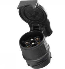Zwarte Thule Adapter 9907 - verloopstekker van 13 naar 7 polig