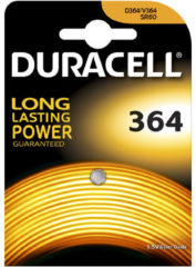 Duracell knoopcel zilveroxide Watch, ho 2.1mm, diam 6.8mm, 1.5V
