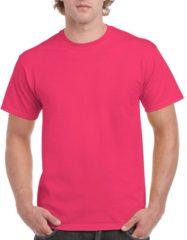 Roze katoenen t-shirts voor heren 100% katoen - zware 200 grams kwaliteit - Basic shirts S (36/48)