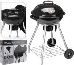 VAGGAN Nesling Houtskoolbarbecue - 45 cm - Zwart