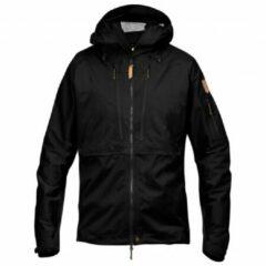 Zwarte Fjällräven - Keb Eco-Shell Jacket - Hardshelljack maat XXL zwart