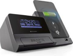 Caliber Wekkerradio met DAB+ en draadloze Qi telefoon oplader - (HCG012QiDAB-BT)