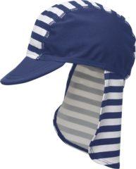 Blauwe Playshoes UV zonnepetje Kinderen Maritime - Blauw - Maat 51cm