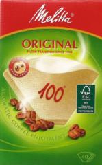 Melitta Haushaltsprod 100/40 naturbr(VE40) (9 Stück) - Filtertüten 100/40 naturbr (Inhalt: 40)