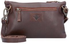 Billy the kid NASTY COWBOYS UMHÄNGETASCHE LEDER 26 CM Damen braun