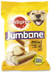 Beige Snack Hond Pedigree Jumbone Kip - Lam Small