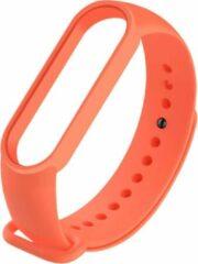Poqlo Horlogebandje voor Mi Band 5 - Sportarmband - Slimme Horlogeband voor Mi Band 5 - Oranje
