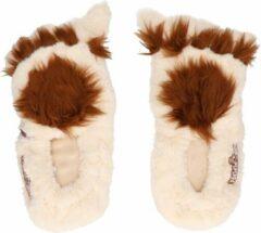 Merkloos / Sans marque Magnetron warmte pantoffels/sloffen Hobbit/monster 37-40 - Warme voeten - Warmte/koelte pantoffels - Monstervoeten