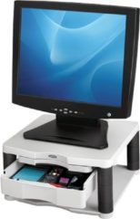 Grijze Fellowes monitor standaard Premium Plus, wit