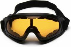 Faas Commerce Skibril - Snowboardbril - UV Beschermend - Verstelbare Ski/Snowboard bril - Unisex - Oranje glas