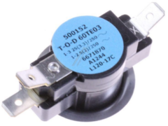 Miele Thermostat 60TE03-500152 120° für Trockner 6671870
