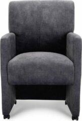 Antraciet-grijze Happy Chairs - Armstoel Munar - Urban Antraciet