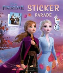 Deltas Centrale uitgeverij Disney Sticker Parade Frozen 2