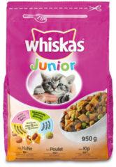 Whiskas Brokjes Junior Kip - Kattenvoer - 950 g - Kattenvoer