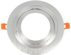 Groenovatie LED line Inbouwspot - Rond - Kantelbaar - AR111 Fitting - Ø 180x180 mm - Aluminium