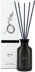 Ipuro classic line noir geurverspreider Glas, Kunststof Zwart, Doorschijnend Geurfles