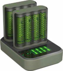 GP batterijen GP Batteries Pro-Line Docking-Station Batterijlader Incl. oplaadbare batterijen NiMH AAA (potlood), AA (penlite)