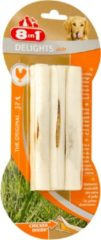 8in1 Delights Sticks - Hondensnacks - Kip 3x25 g 3 stuks - Hondenvoer