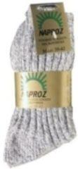 Naproz Noorse sokken|2 paar|Grijs maat 39-42