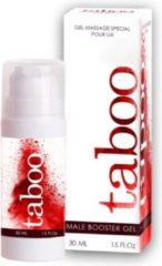 Taboo Male Booster Gel 30ml   RUF