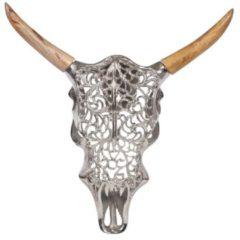 MiaVILLA Wandobjekt Shiny Bull, orientalischer Look