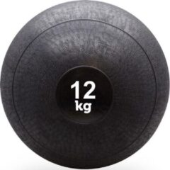 Zwarte Slam ball - Focus Fitness - 12 kg