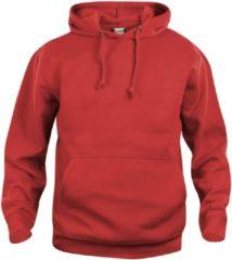 Clique Basic hoody Rood maat L