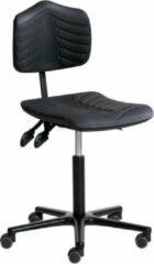 Zwarte SalesBridges Ergonomische bureaustoel ERGOSOFT 2010 op zwenkwielen (H) 49 - 69 cm