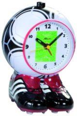 Sonstiges ATLANTA Atlanta 1181 Wecker Kinderwecker Fußball Olé Olé rot Fußballwecker für Kinder