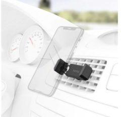 Zwarte Hama Uni-smartphonehouder, voor apparaten met een breedte van 5,5 - 8,5 cm