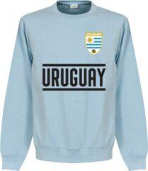 Lichtblauwe Retake Uruguay Team Sweater - Licht Blauw - XXL