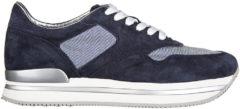Blue Hogan Scarpe sneakers donna camoscio h222 sportivo xl allacciato