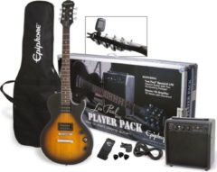 Epiphone Les Paul Player Pack Sunburst elektrische gitaarpakket