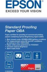 Epson Proofing Paper Standard - proefpapier - 1 rol(len) - Rol (111,8 cm x 30,5 m) - 240 g/m² (C13S450189)