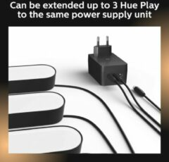 Philips Hue Play Verlengkabel MA 7820430P7 Zwart