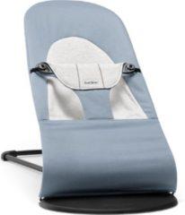 BabyBjörn BABYBJÖRN Wipstoeltje Balance Soft - Blauw-Grijs Cotton-Jersey