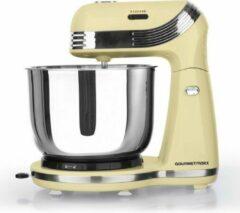Gourmetmaxx Gourmetmax Keukenmachine in een chique retro look 3L - Vanille kleur - Bekend van Tv