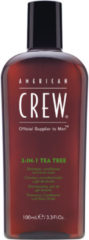 American Crew Haarpflege Hair & Body 3 in 1 Tea Tree Shampoo, Conditioner & Body Wash 100 ml