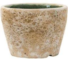 Baq Design Lava Relic beige bloempot binnen 19x19x13 cm