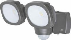 Brennenstuhl Batterij LED Straler LUFOS 420 | met infrarood-bewegingsmelder | 2x 240 lm