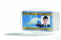 Durable Houder voor veiligheidspas voor 2 kaarten