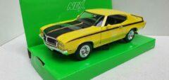 Gele Buick GSX 1970 Yellow / Black Stripes
