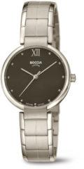Boccia Titanium 3313.01 horloge Titanium Zilverkleur Dames