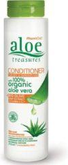 Pharmaid Aloe Treasures Conditioner Organic Aloë Vera   Bio Olive   Droog & Beschadigt Haar