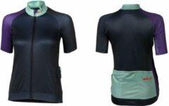 XLC - Fietsshirt Race Korte Mouw - Dames - Blauw/Paars - Maat M