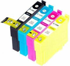 Cyane Inkmaster Huismerk cartridges voor Epson T1295| Multipack van 4 cartridges voor o.a. Epson Stylus SX230, SX235, SX420, SX425, SX430, SX435, SX438, SX440, SX445, SX525, SX535, SX620, Stylus Office B42WD, BX305, BX320, BX525, BX535, BX625, BX630,