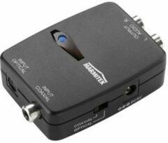 Witte Marmitek Connect DA21 - Audio Converter Digitaal naar Analoog stereo audio