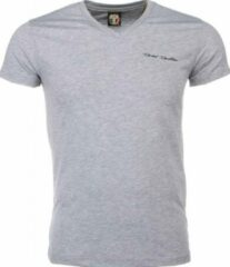 David Copper T-shirt - Blanco Exclusive - Grijs Heren T-shirt S
